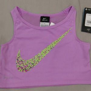 🆕 Nike crop top in Fuchsia Glow